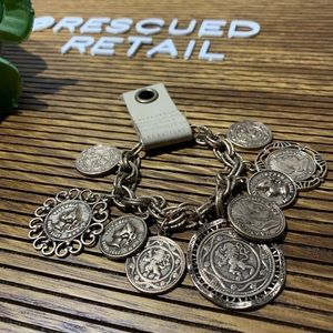 NWT Anthropologie Heirloom Coin Bracelet
